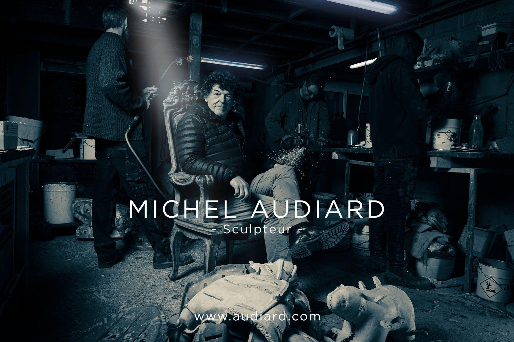 Michel Audiard Sculpteur par Yers Keller